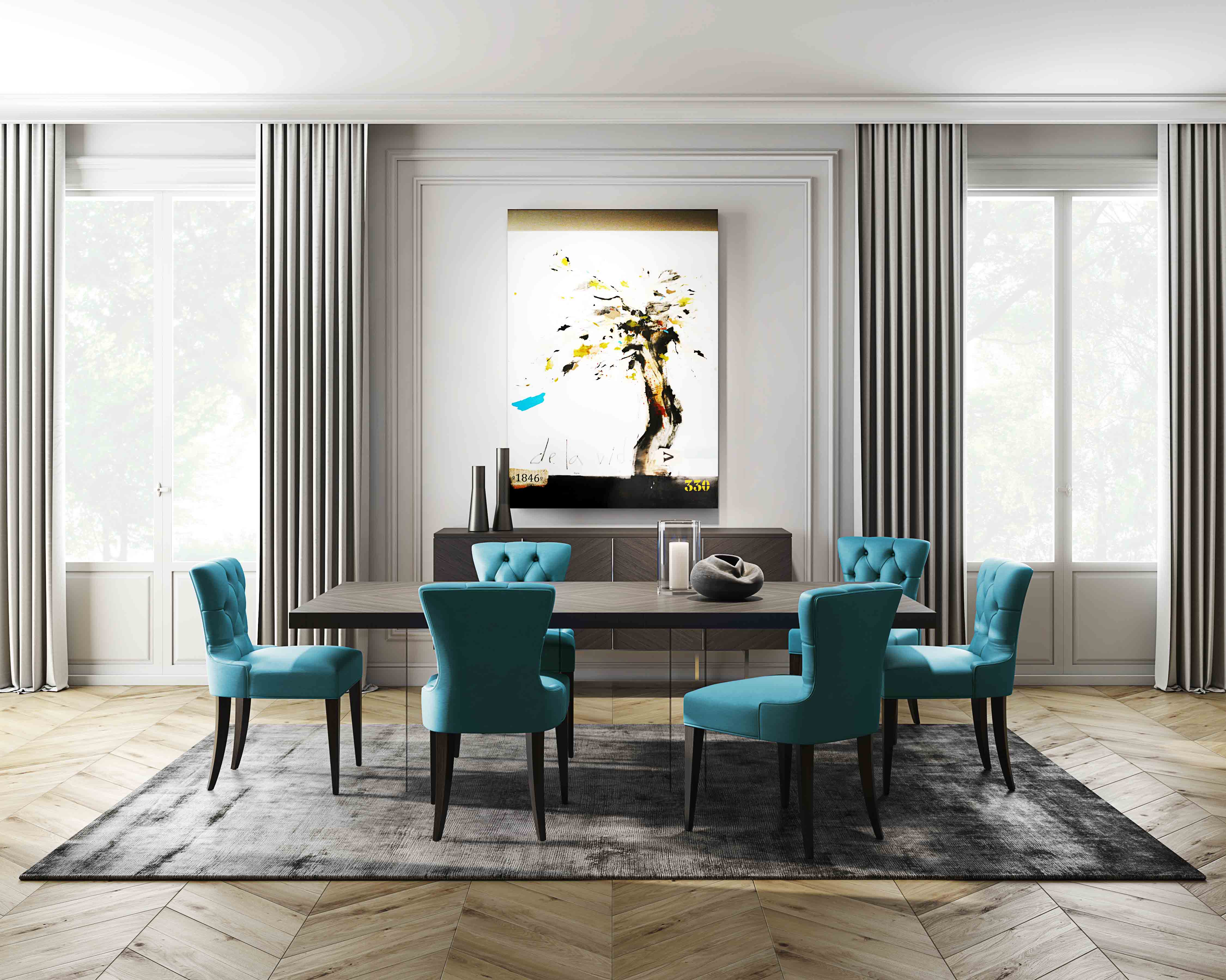 modern dining room sets, contemporary dining room sets, contemporary dining tables