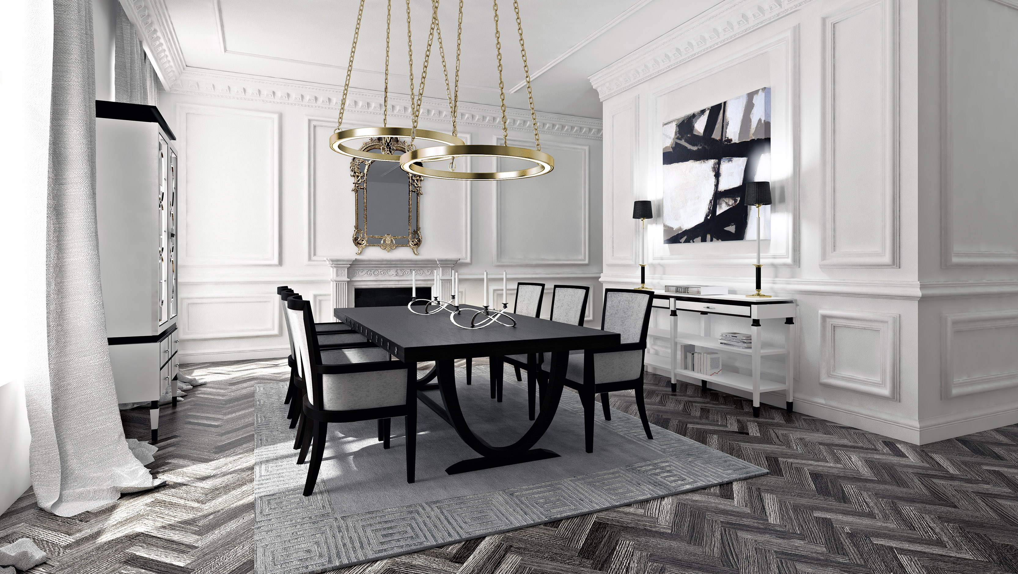 contemporary dining room sets, white dining room furniture