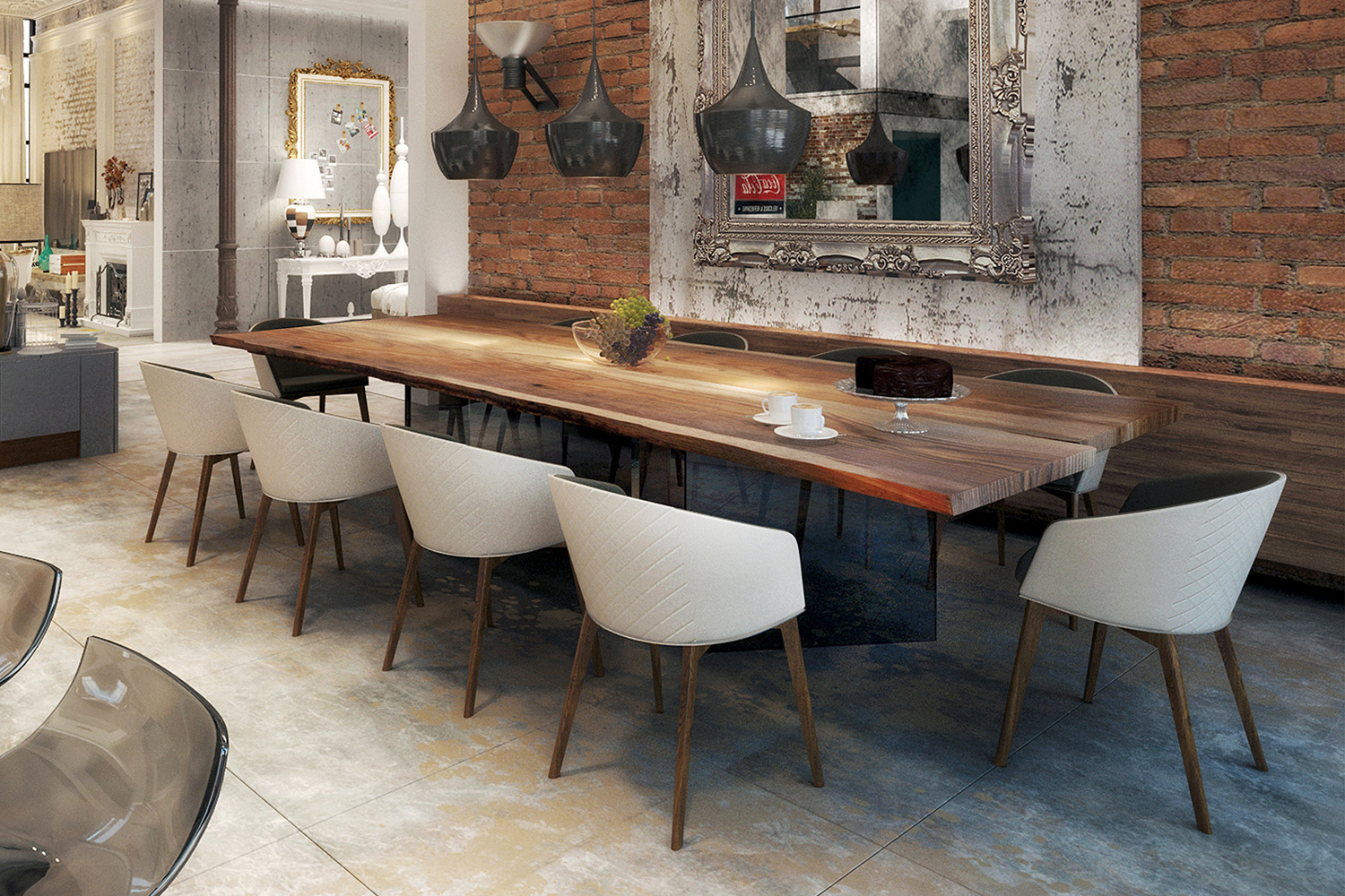 industrial dining table, contemporary dining tables, modern dining table