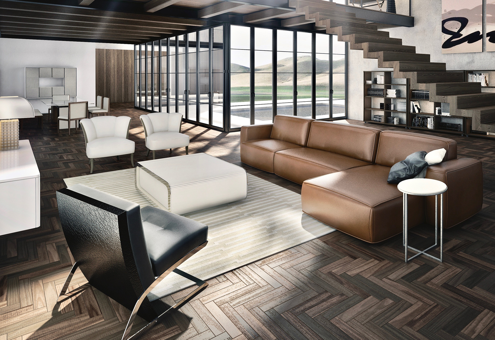 Image of: Luxury Living Room Furniture Sets